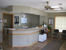 Ozark Chiropractic Clinic office